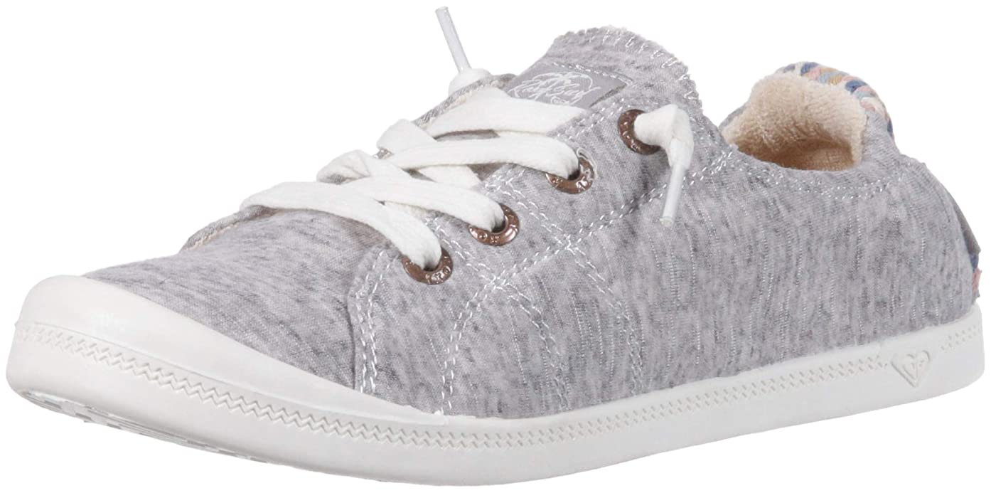 批判的に修正する架空の[Roxy] レディース Bayshore Slip on Shoe Fashion Sneaker カラー: グレー