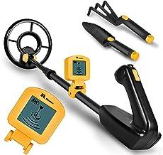 RM RICOMAX Metal Detector for Kids – 7.4 Inch Waterproof Kid Metal Detectors Gold..