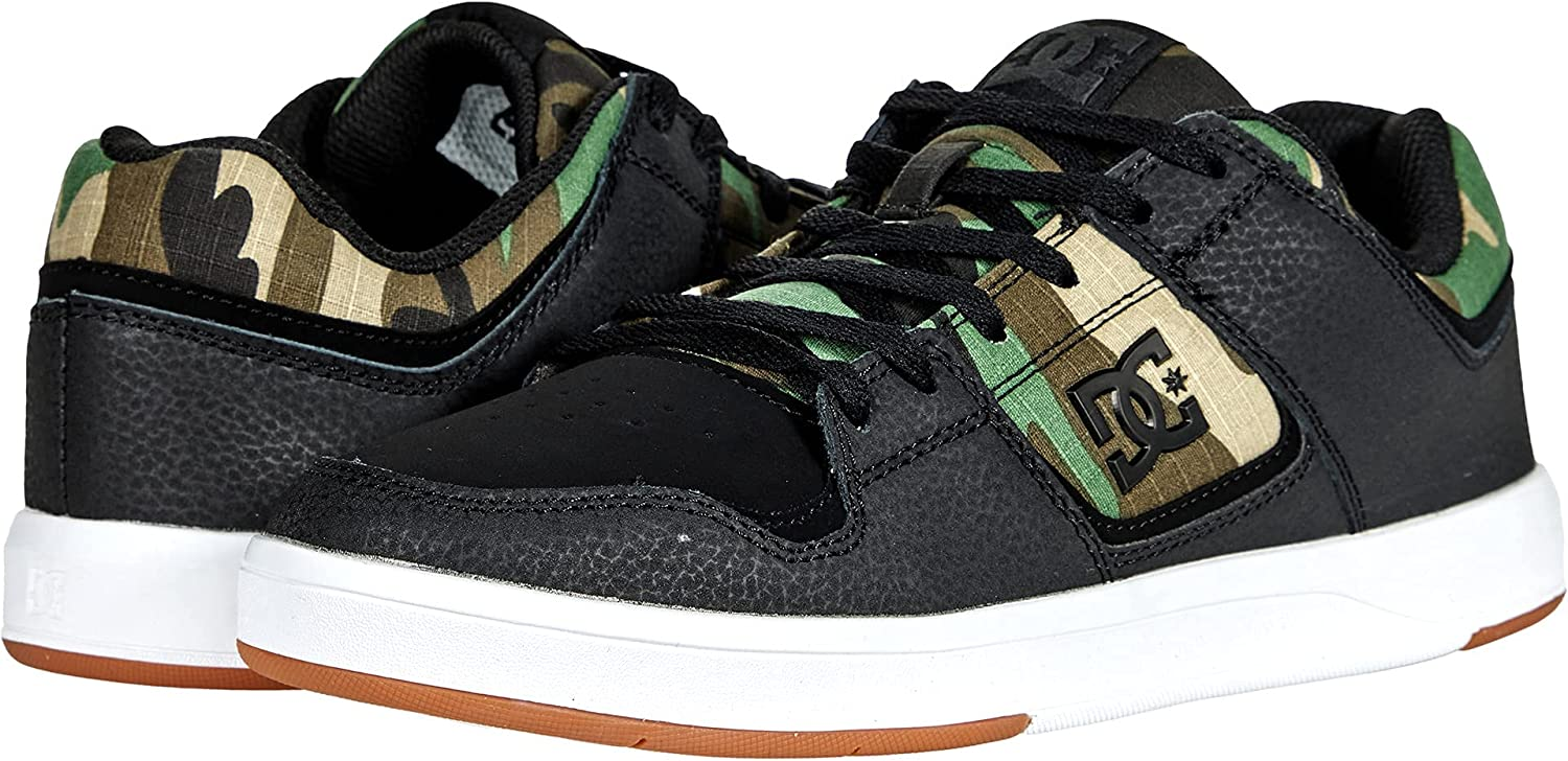 DC mens Cure Casual Low Top Skate Shoes Sneakers
