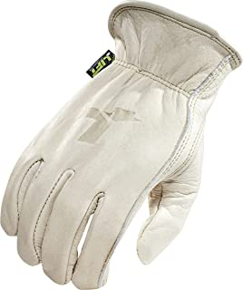 LIFT Safety 8 Seconds Gloves (Off-White, X-Large)