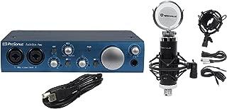 Presonus Audiobox iTwo 2X2 USB Recording Interface+Studio Mic+Shock Mount+Filter