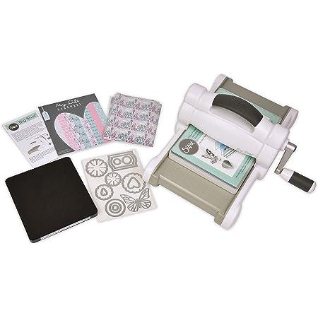 Sizzix Démarrage Scrapbooking Machine de Découpe et Gaufrage, Autre, Big Shot Starter Kit, 42 x 30 x 24 cm