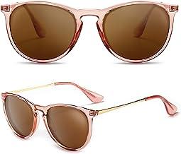 SUNGAIT Vintage Ronde Zonnebril voor Vrouwen Klassieke Retro Designer Stijl Dames Zonnebril