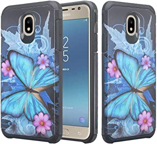 Wydan Case for Galaxy J3 2018/J3 Star/J3 Orbit/J3 V 3rd Gen/J3 Achieve/Express Prime 3/Amp Prime 3 - Slim Shockproof Case Heavy Duty Protective Phone Cover