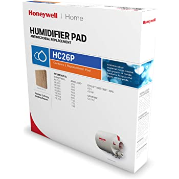 Honeywell Home HC26P Whole House Humidifier Pad, Paper, Anti-Microbial Coating