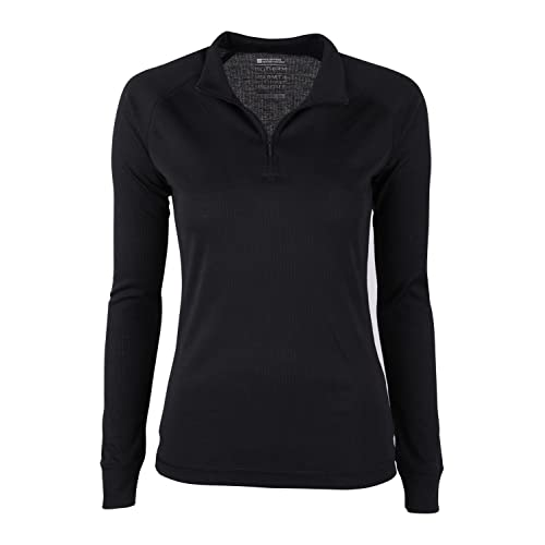 Mountain Warehouse Talus Womens Zip Neck Thermal Baselayer Top - Long  Sleeves T-Shirt dd1532db0