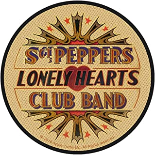 The Beatles - Sgt Pepper's Lonely Hearts Club Band 9cm Woven Sew On Patch