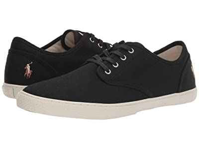 Polo Ralph Lauren Ethan Lace (Black Canvas) Men