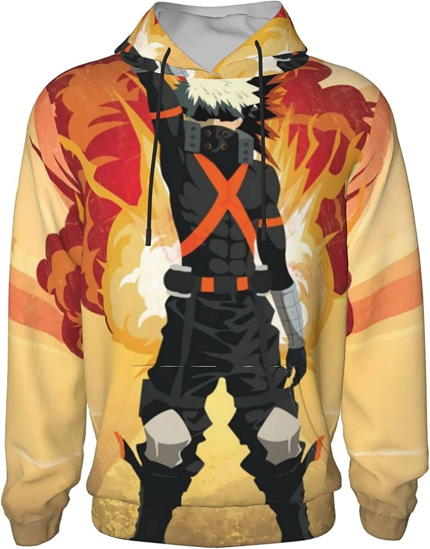 My Hero Academia Hoodies for Teen J Boys Sweatshirt Max 69% OFF Hooded Anime Oklahoma City Mall