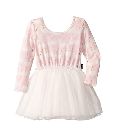 Rock Your Baby Swannie Long Sleeve Circus Dress (Toddler/Little Kids) (Pink) Girl