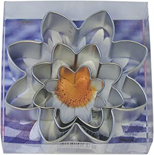 R&M International 1913/B Daisy Flower Cookie Cutter, Assorted Sizes, 3-Piece Set