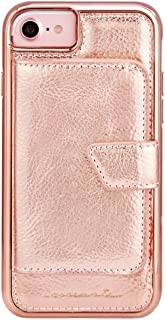 Case-Mate iPhone 8 Case - COMPACT MIRROR -Rose Gold - Holds 4 Cards - Protective Design for Apple iPhone 8 - Rose Gold