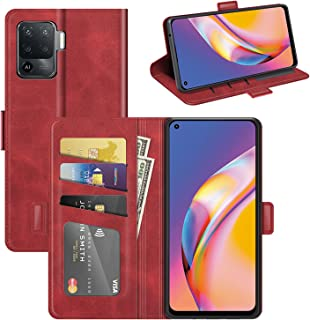 EasyLifeGo for Oppo A94 / Oppo F19 Pro/Oppo Reno5 Lite Case PU Leather Wallet Case Magnetic Flip Flap Cover with Kickstand...