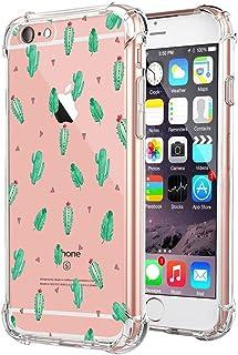 8fbc3cb4543 Teryei Funda iPhone 6 Plus/iPhone 6S Plus Silicona Carcasa Clear TPU  Protección ultra slim