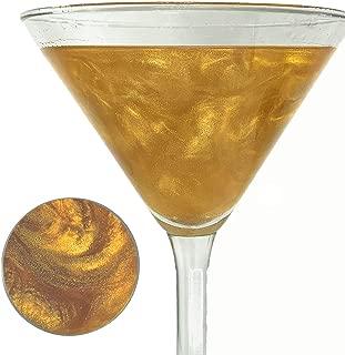 Snowy River Gold Cocktail Glitter - Kosher Certified Natural Gold Drink Glitter, Gold Beverage Glitter, Wine Glitter and Beer Glitter (5g)