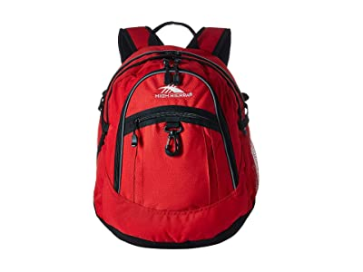 High Sierra Fat Boy Backpack (Crimson/Black) Backpack Bags