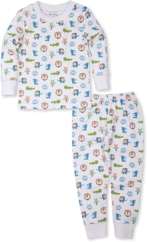Kissy Kissy Boys Toddler Pajamas Jungle Antics Long Pajajmas Set