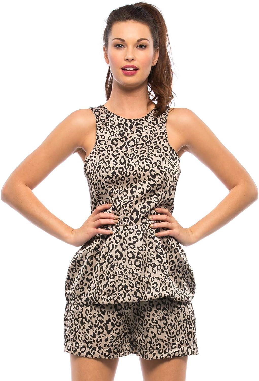 Naven Silk Leopard Print Shorts