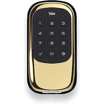 Yale Security Yrd246nr605 Yale Assure Lock Key Free Touchscreen Deadbolt In Polished Brass Yrd246 Nr 605 Amazon Com