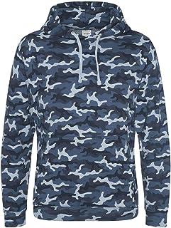 Amazon.it: maglia mimetica Blu: Abbigliamento