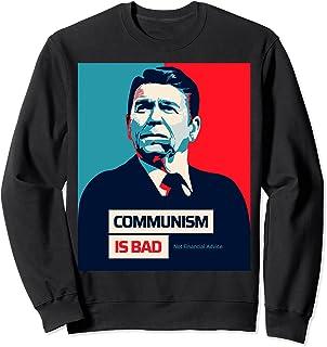 ロナルド・レーガン-共産主義は悪く、財政的なアドバイスは面白くない トレーナー