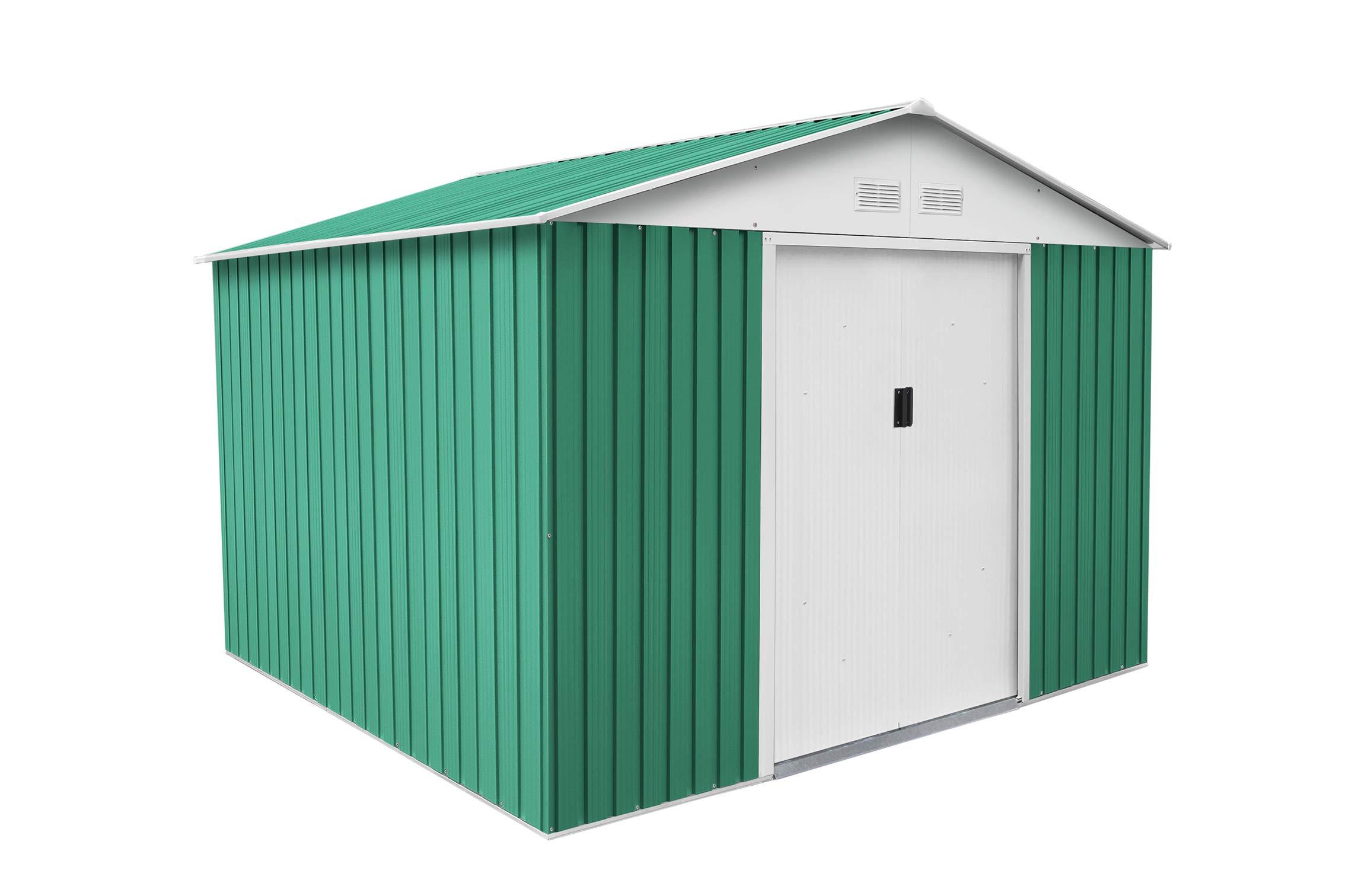 Gardiun KIS12804 - Caseta Metálica Bristol 7,74 m² Exterior ...