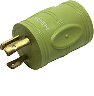 NemaTech Locking L5-20P To 5-20R Shore Adapter