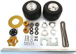 | 36 Inch Shaft Kit for Trike Drift Bikes includes (2) Go Kart Tires 11x6.00-5