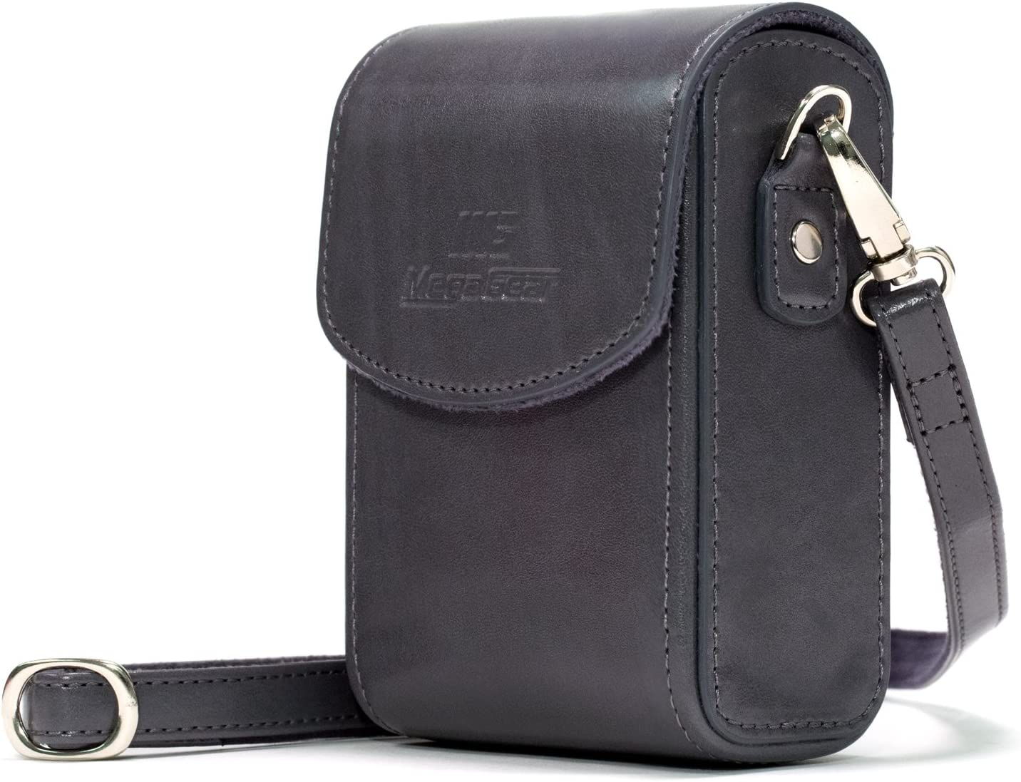 MegaGear Leather Camera Case with Strap Sony Cyb Boston Mall Beauty products Compatible