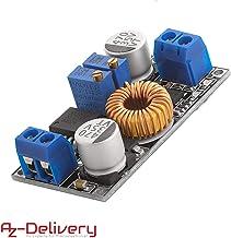 AZDelivery XL4015 - Transformador de Corriente DC-DC para Arduino (5 A, 8-36 V, 1,25-32 V)