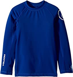 Lido Solid Long Sleeve Thrashguard (Toddler/Little Kids)