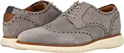 Light Gray Nubuck w/ White Sole