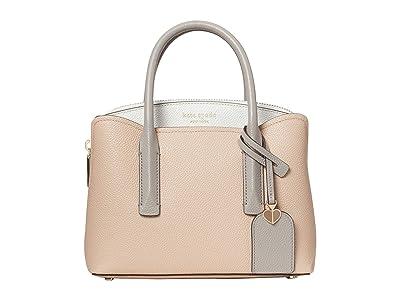 Kate Spade New York Margaux Mini Satchel (Blush Multi) Bags