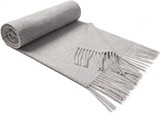 Lallier Cashmere Scarf for Women, Long Thick Soft Pashmina Wool Wraps Shawls 78'' × 24'' Extra Large Winter Stole
