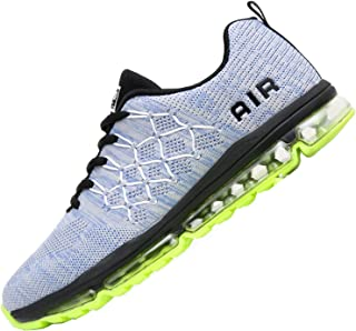 Reabo Mens Air Running Tennis Shoes Sport Gym Jogging Athletic Sneakers (US7.5-11.5 B(M)