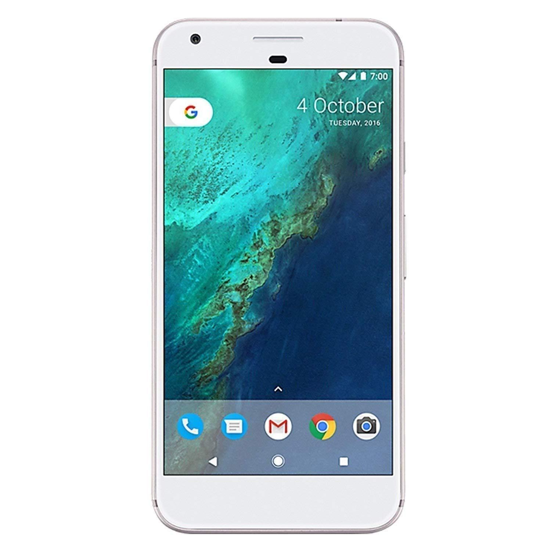 Google Pixel XL - 32GB Factory Unlocked - Very Silver (Renewed)
