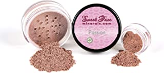 BLUSH (PASSION) Mineral Makeup Powder Bare Face Shadow Contour Rouge Highlight (5 gram Sample Size Jar)