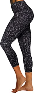 "BUBBLELIME 22""/26"" 2 Styles Basic/Out Pockets High Waist Embossed Pattern Yoga Pants Women Workout Leggings Tummy Control"