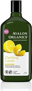 Avalon Organics Clarifying Shampoo, Lemon, 11 Fl Oz