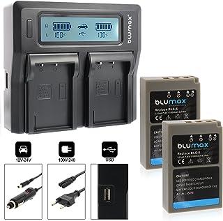 Suchergebnis Auf Für Olympus E P3 Ladegeräte Akkus Ladegeräte Netzteile Elektronik Foto