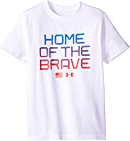 UA Home Of The Brave Short Sleeve Tee (Big Kids)