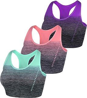 Sykooria Sujetador de Lactancia para Mujer Sujetador de Lactancia inal/ámbrico de Maternidad Sin Costuras Alta Elasticidad Sin Cables C/ómodo con Hebilla Desmontable