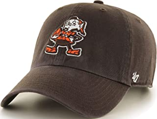 Cleveland Browns Throwback Elf Logo Clean Up Adjustable Hat - Brown