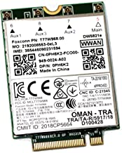 PH6K2 7D4P4 Dell Latitude 5420 5424 7424 OEM T77W968 DW5821e Snapdragon X20 LTE 1Gbps 4G Card