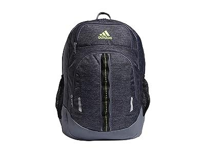 adidas Prime V Backpack (Jersey Black/Onix/Black/Signal Green) Backpack Bags