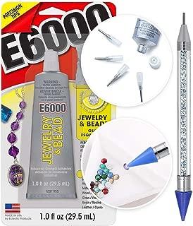 e6000 jewelry and bead glue