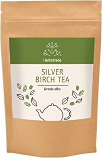 Sponsored Ad - Silver Birch Leaves (Betula pendula) Dried Tea (Loose) 3 oz / 90gr