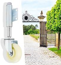 """Veerbelast zwenkwiel, 4""""Zwenkwiel voor nylon deur Zwenkwiel Sterk gegoten Laadvermogen van 440 kg, de deur opent en sluit ..."""