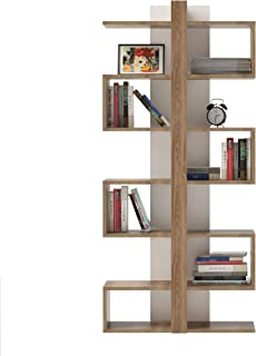 Decorotika Ionisa 7-Shelf Modern Cube Bookcase Bookshelf Shelving Unit