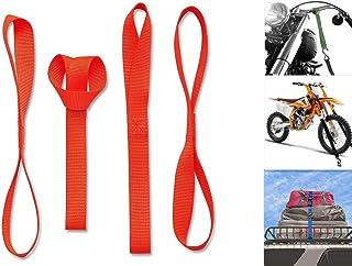 Alças de amarrar de motocicleta Cara macias 30,48 cm - 45,72 kg. Carga de trabalho e 136 kg. Força de quebra – Laços de am...